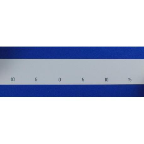 Cinta numeración agujas 6,5mm Electrónicas