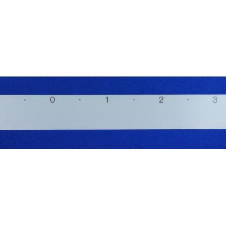 Cinta numeración agujas 4,5mm f.adicionales